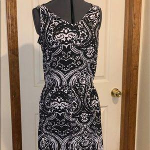 Women's Faded Glory Tank Top Dress Summer Dress